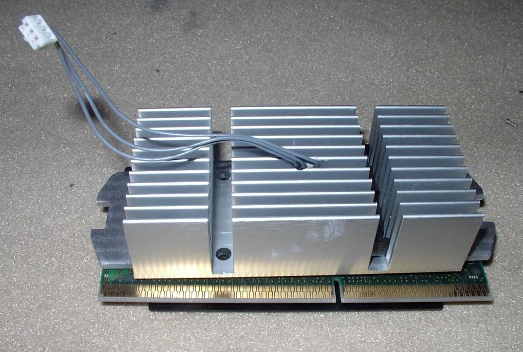 CPU mit Kühlkörper