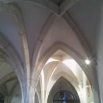 Gotisches Gewölbe im Keller
