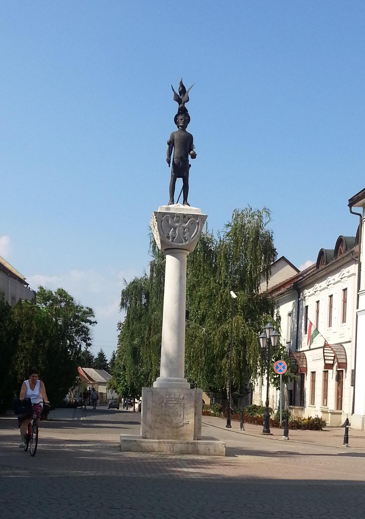 Marktplatz in Tokaj