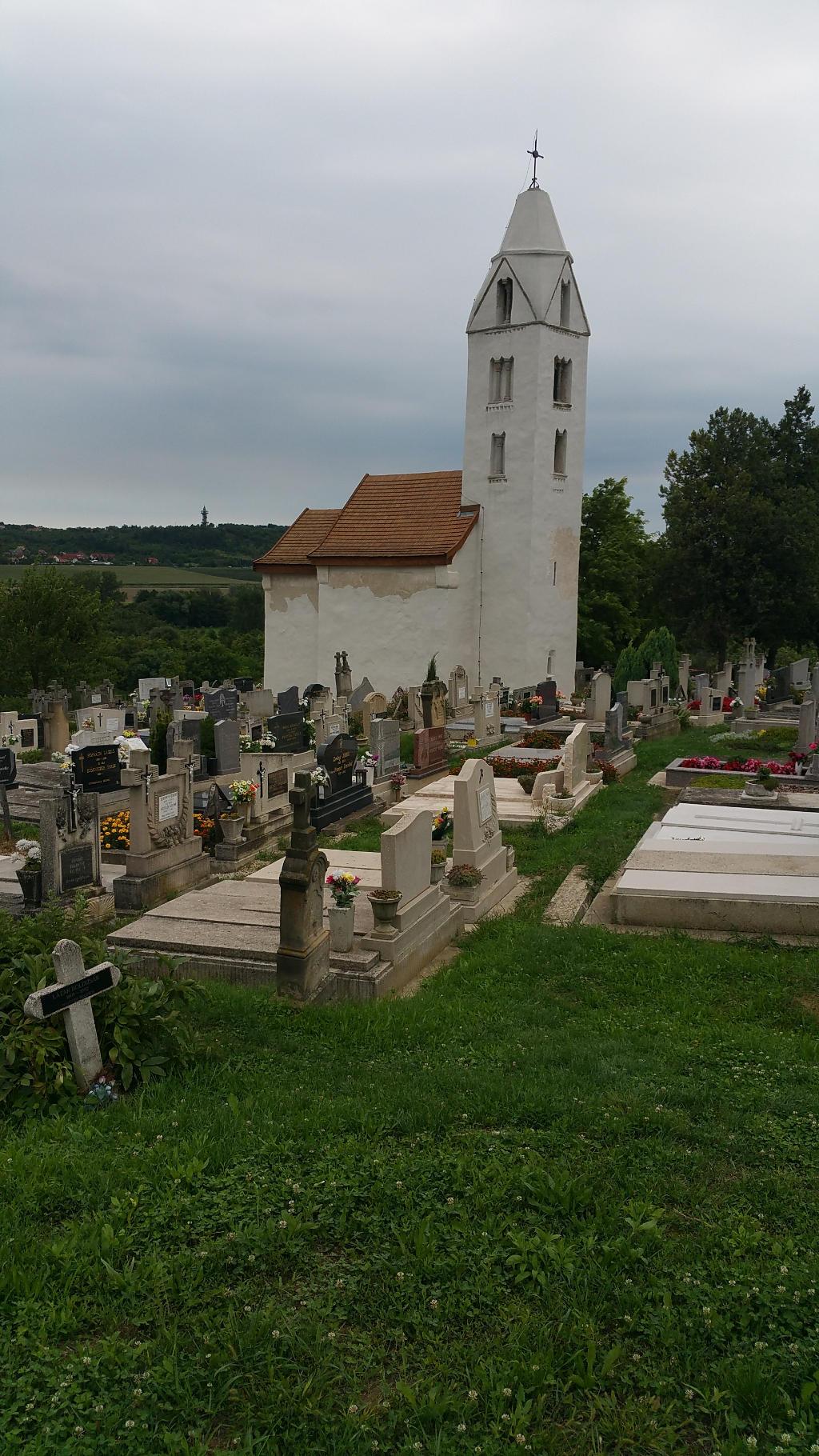 alte Kirche von 1341 in Heviz