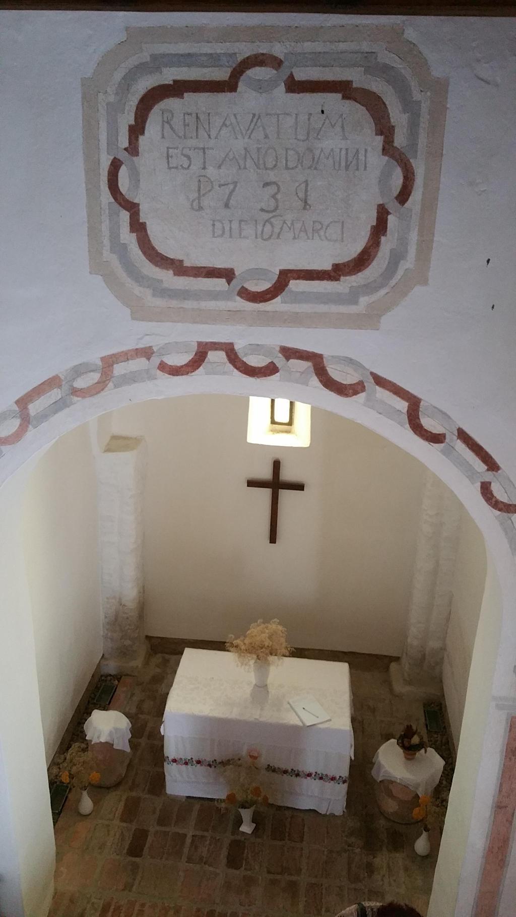 Innenraum der Kirche