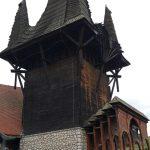 Gemeindezentrum Kakasd Turm Seitenansicht
