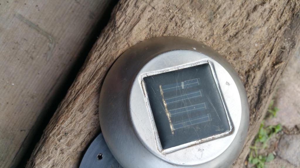 abgedichtetes Solarpanel